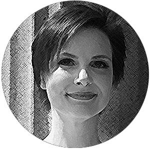 Sallie Goetsch profile image, crosshatched